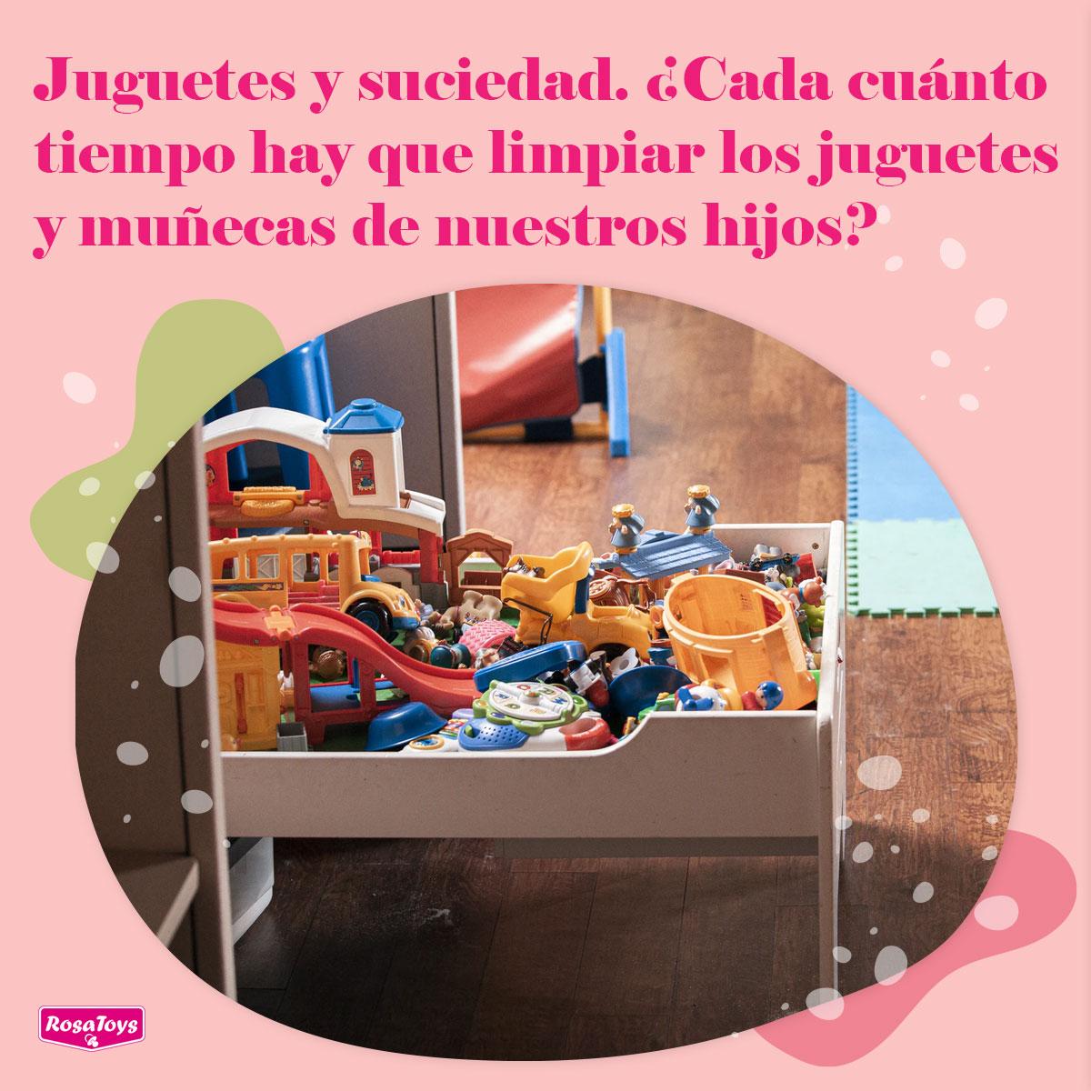 ¿Cada cuánto tiempo hay que limpiar los juguetes de nuestros hijos?